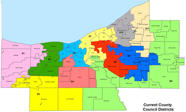 New District Overview - Cuyahoga County Council