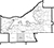black outline of Cuyahoga County